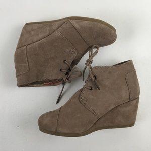 755b5d6da64 Toms Shoes - Toms Sand Desert Wedges X9815764